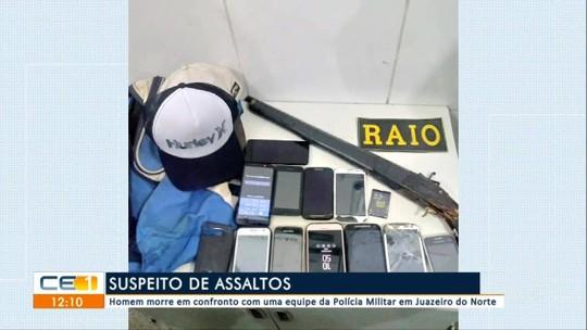 Suspeito de assalto morre em confronto com a polícia em Juazeiro do Norte