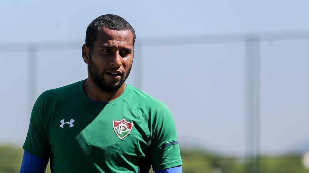 Rodolfo tem contrato com o Fluminense até o fim de 2021 — Foto: Lucas Merçon / Fluminense FC