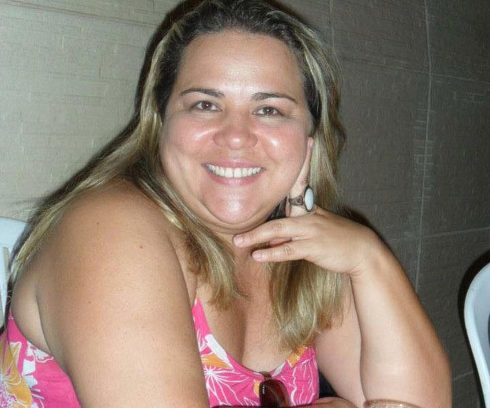 Janaína Silva de Oliveira, 42 anos, era corretora de imóveis em Salvador (Foto: Arquivo Pessoal)