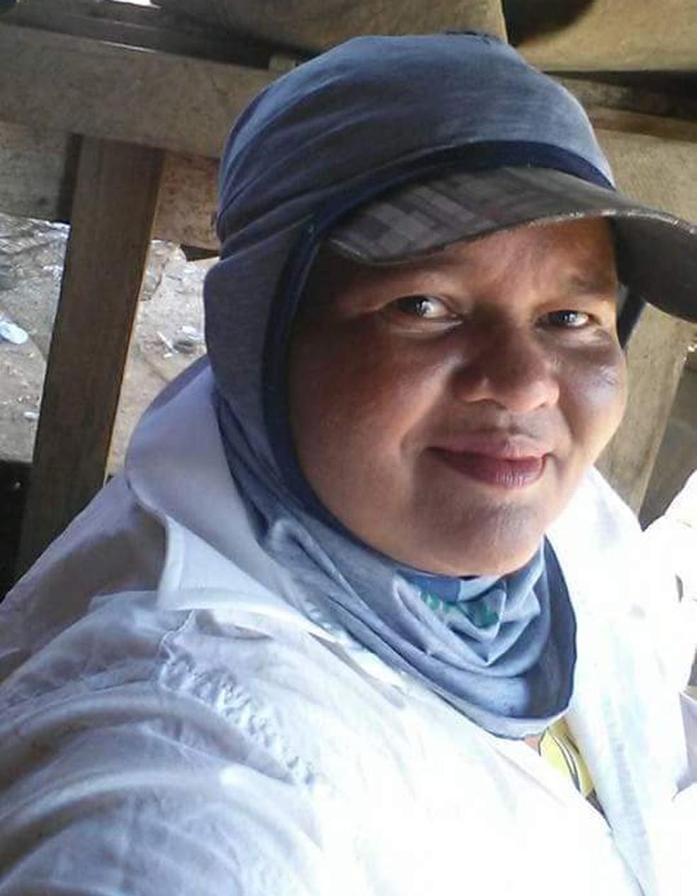 Lúcia Fernandes, de 44 anos, trabalhou por 18 anos como catadora de materiais recicláveis no antigo Lixão da Estrutural  — Foto: Arquivo pessoal