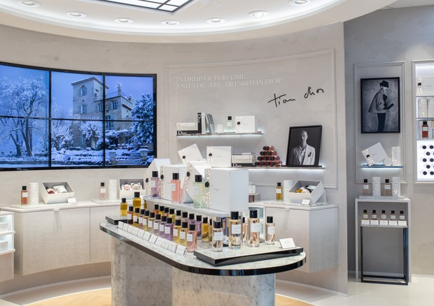 Nova boutique da Dior no Aeroporto de Guarulhos  (Foto: Divulgação)