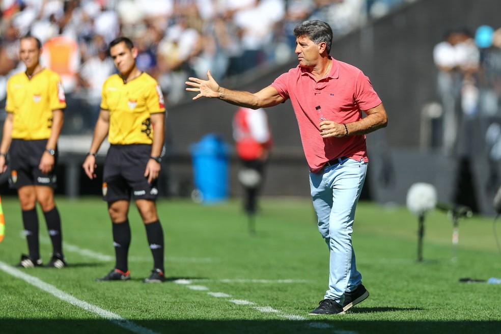 Renato falou sobre possibilidade na seleção (Foto: Lucas Uebel/Grêmio)