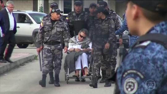 Ex-líder guerrilheiro da Colômbia foi solta à tarde e preso novamente à noite