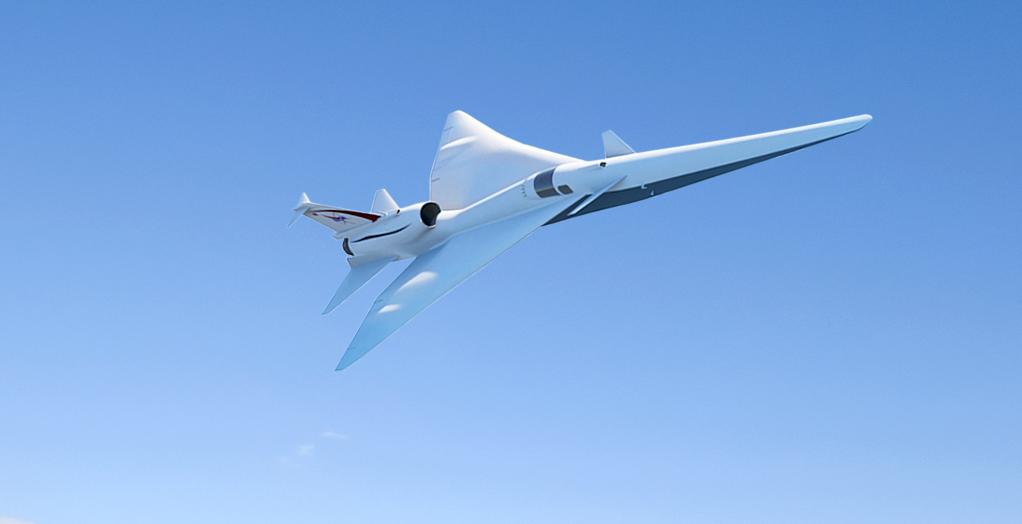 Desenho do projeto da aeronave  (Foto: Divulgação/Nasa)