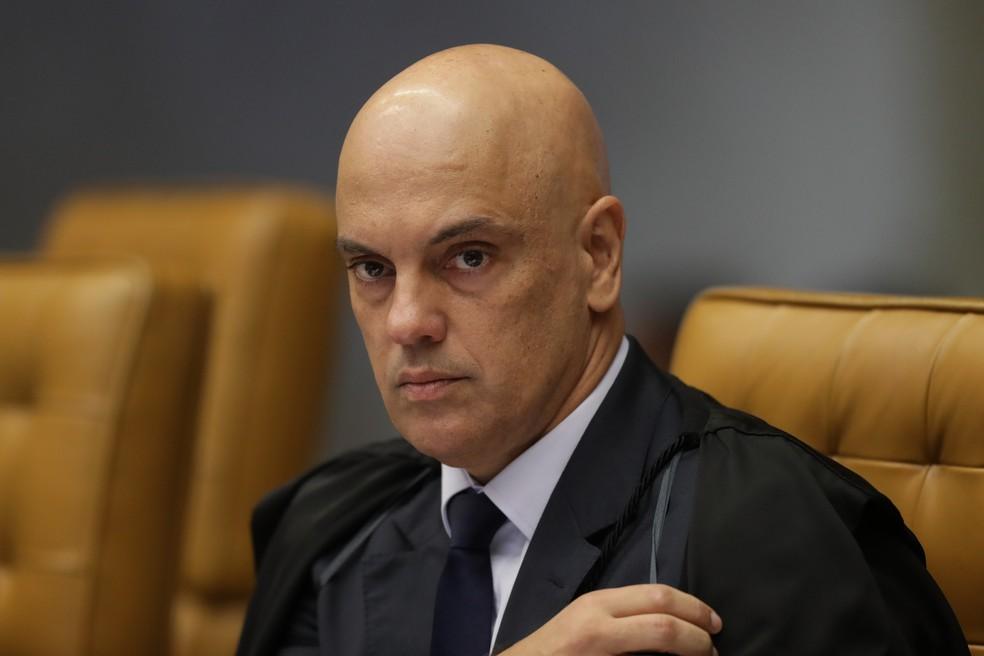 O ministro Alexandre de Moraes, do STF — Foto: Gabriela Biló/Estadão Conteúdo