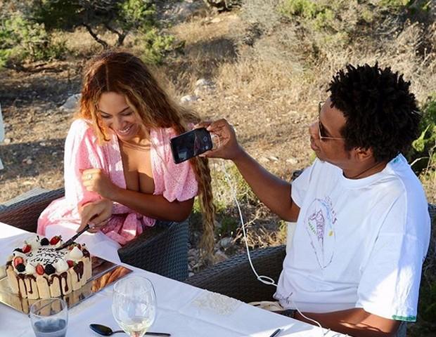 Beyoncé e Jaz-Z (Foto: Reprodução/Instagram)