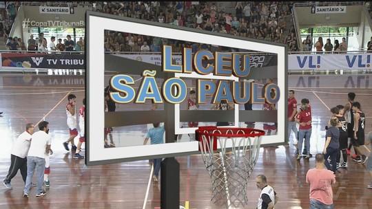 Luiza Macuco e Liceu SP são tricampeões da Copa TV Tribuna de Basquete