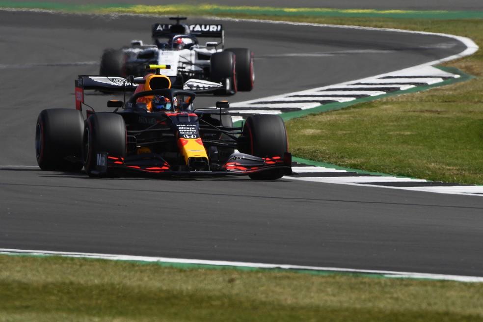 Atualmente, RBR e AlphaTauri utilizam motores Honda na F1 — Foto: Getty Images