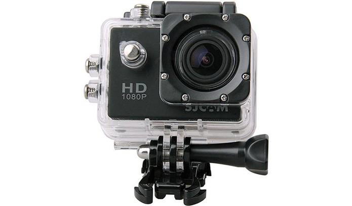 SJCAM SJ4000 grava vídeos em Full HD e tem resolução de 12 MP para fotos ( 495437484f