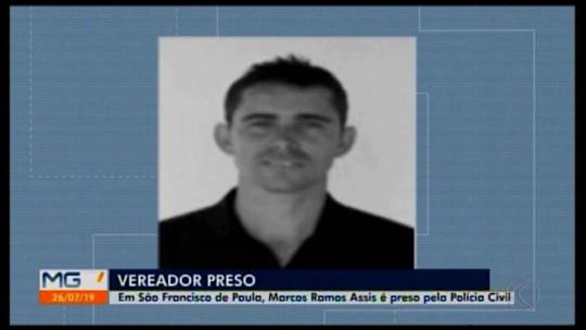 Vereador é preso em São Francisco de Paula