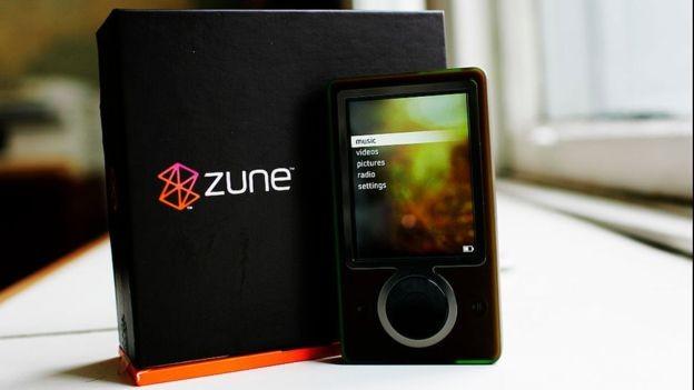 O Zune nunca foi uma ameaça para o iPod (Foto: Getty Images via BBC News)