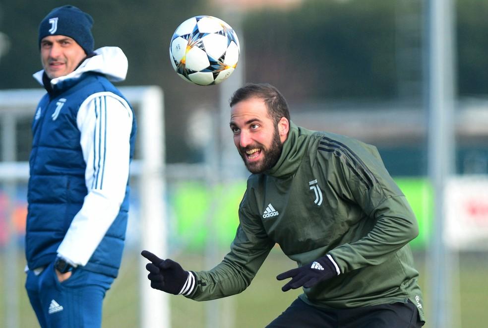Higuan est confirmado na Juventus para a partida Foto REUTERSMassimo Pinca