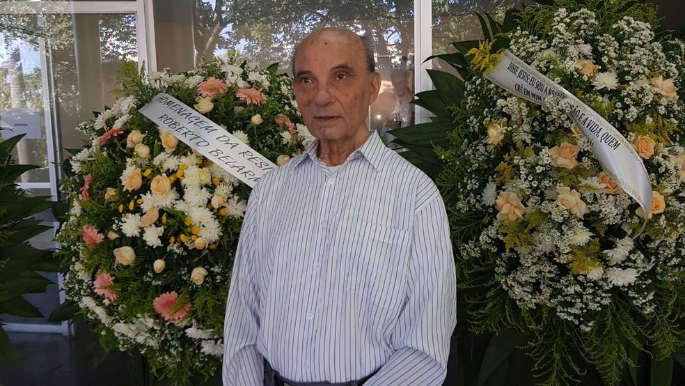 Padre João Augusto Mac Dowell foi contemporâneo de Padre Quevedo — Foto: Alex Araújo/G1
