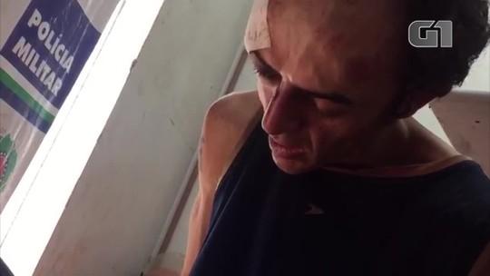 Jovem que confessou ter esfaqueado 4 fiéis dentro de igreja em Goiás pode responder por terrorismo, diz delegado