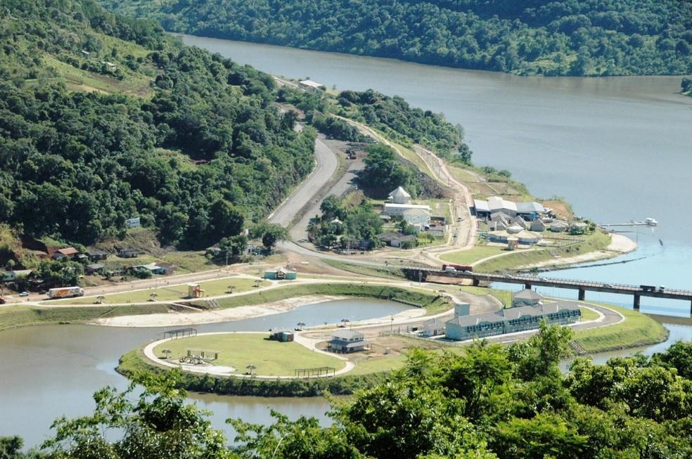Porto goio-en está entre os locais públicos fechados em Chapecó para evitar aglomerações — Foto: Secom Chapecó/Divulgação