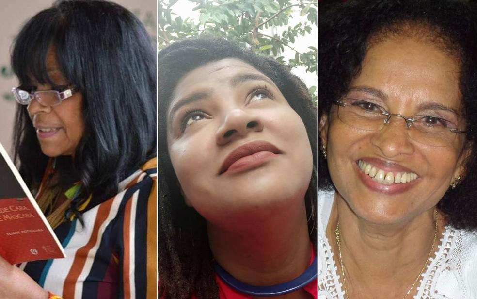 Ciclo contará com Eliane Potiguara, Giselda Perê e Vanda Machado — Foto: Arte/G1