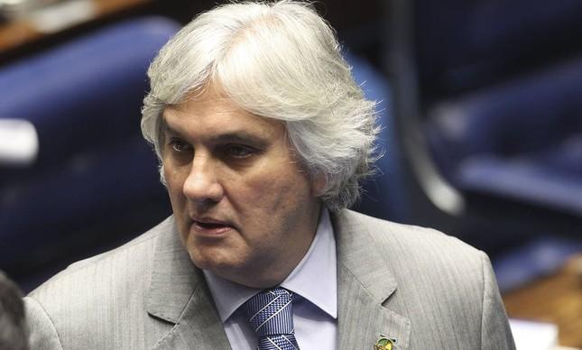 O senador cassado Delcídio Amaral (Foto: Dida Sampaio/Estadão)