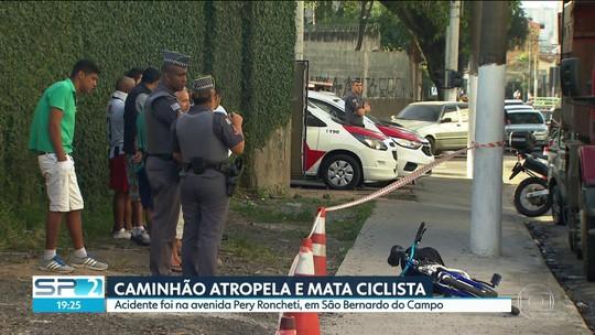 Ciclista morto após ser atropelado no ABC ia para o 1º dia de trabalho