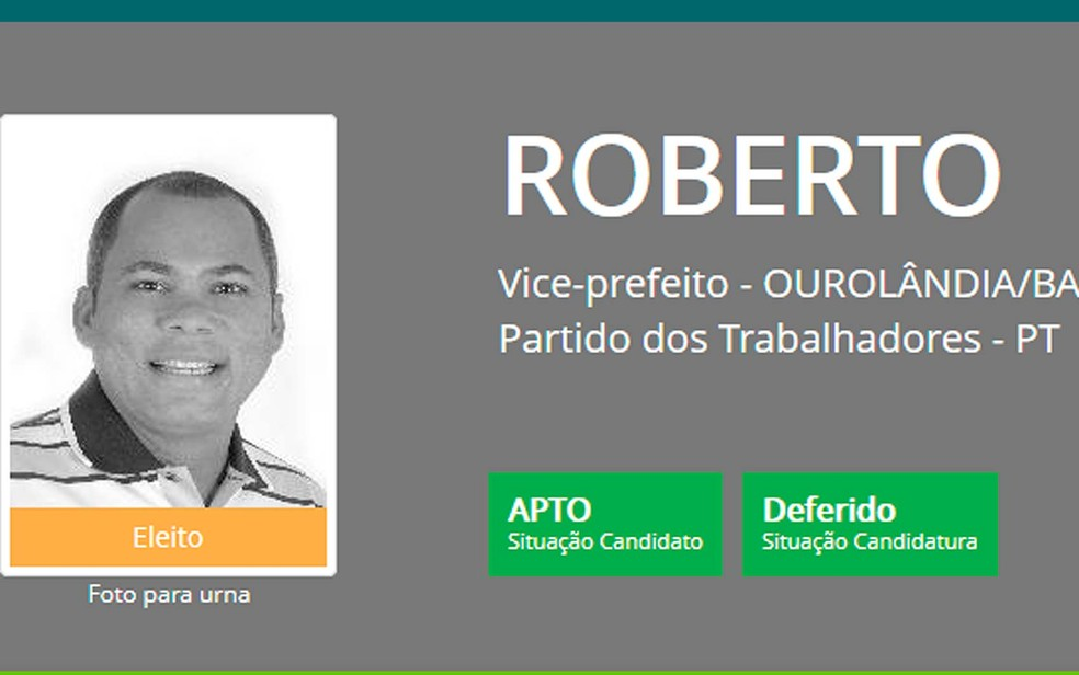 José Roberto Soares Vieira foi morto a tiros em Candeias, na região metropolitana de Salvador (Foto: Reprodução)