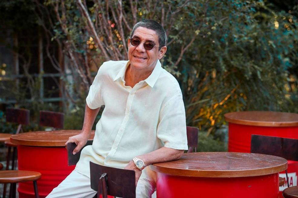 Zeca Pagodinho tem bom estado geral, segundo boletim médico — Foto: Guto Costa