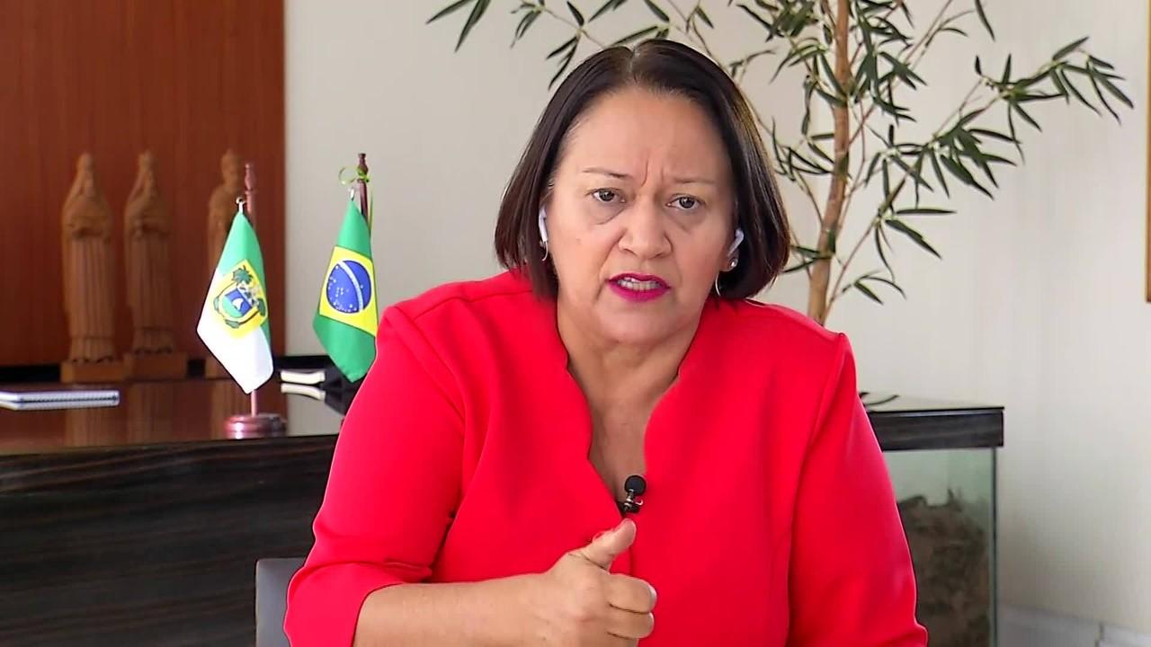 Governadora do RN, Fátima Bezerra, busca receitas extras para quitar salários atrasados