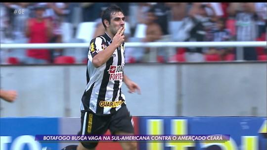 Botafogo busca inspiração no passado para vencer Ceará e conquistar vaga na Sul-Americana