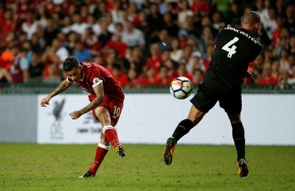 Philippe Coutinho em ação pelo Liverpool (Foto: Reuters)
