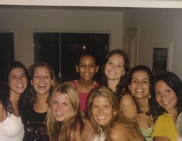 Fe Paes Leme, Fernanda Souza, Susana Werner, Tais Araújo, Samara Felippo, Fernanda Rodrigues, Nívea Stelmann e Juliana Knust (Foto: Reprodução/Instagram)