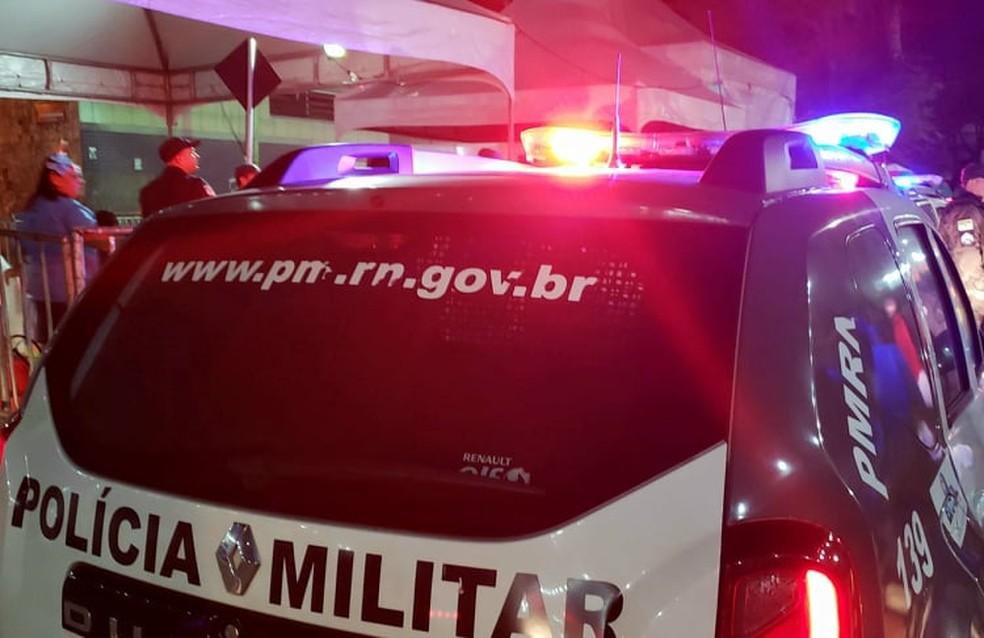 Caso foi registrado pela Polícia Militar — Foto: Bruno Vital/G1