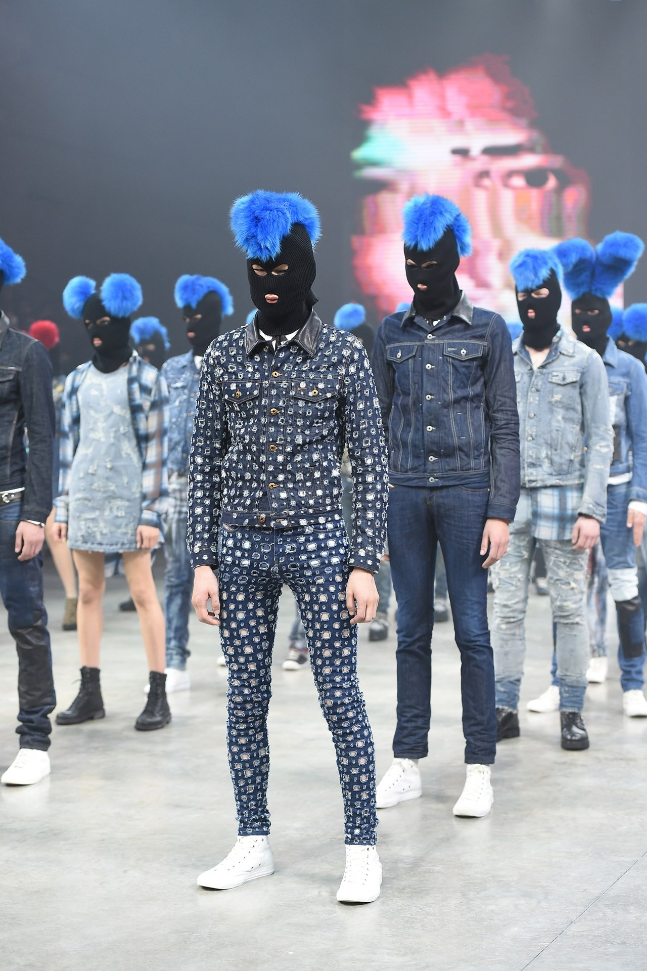 Nicola has taken a gender-neutral stand at Diesel (Foto: InDigital)