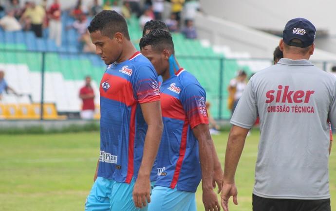 Piauí x Flamengo-PI, Campeonato Piauiense  (Foto: Renan Morais/GloboEsporte.com )