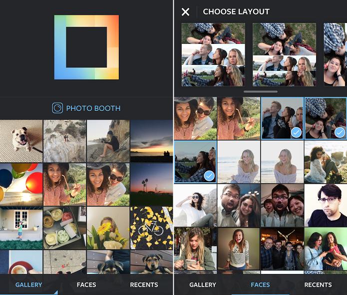 Layout from Instagram faz colagens e montagens de fotos no Instagram (Foto: Divulgação)