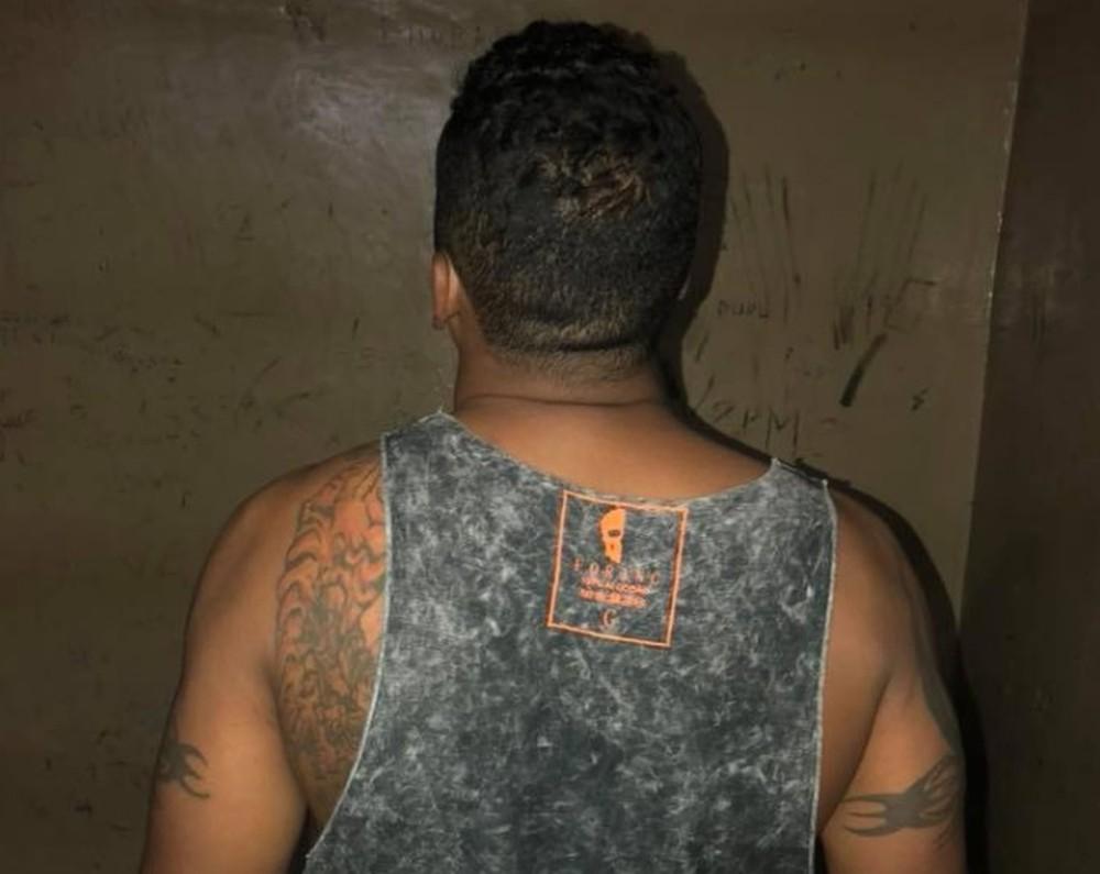 Homem que estava foragido foi capturado (Foto: Polícia Civil/Divulgação)