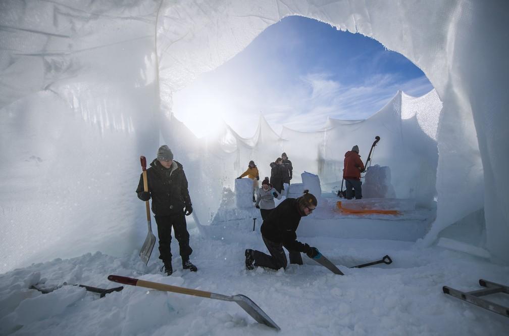 Ice Music Festival (Foto: Jonathan NACKSTRAND / AFP)