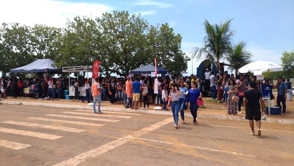 ENEM 2018 - domingo (4) - Palmas (TO) - Mais de 54 mil estudantes devem fazer o Enem — Foto: Jesana de Jesus/G1