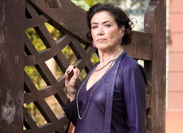 Lília Cabral interpreta a vilã Valentina (Foto: Globo/João Miguel Júnior)