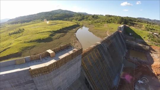 Ampliações em duas barragens são concluídas no Vale do Itajaí