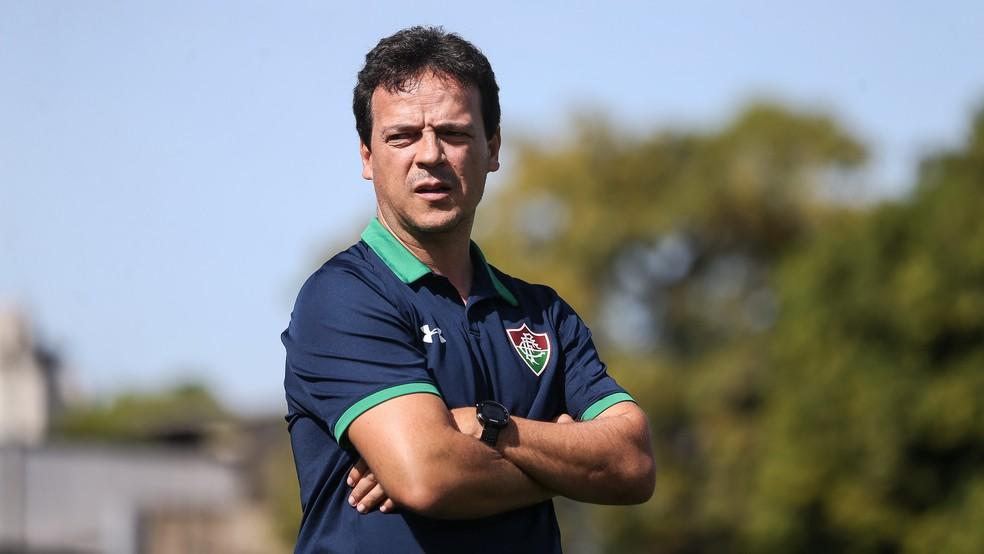 Fernando Diniz, ex-técnico do Fluminense, é o novo treinador do São Paulo — Foto: Lucas Merçon / Fluminense