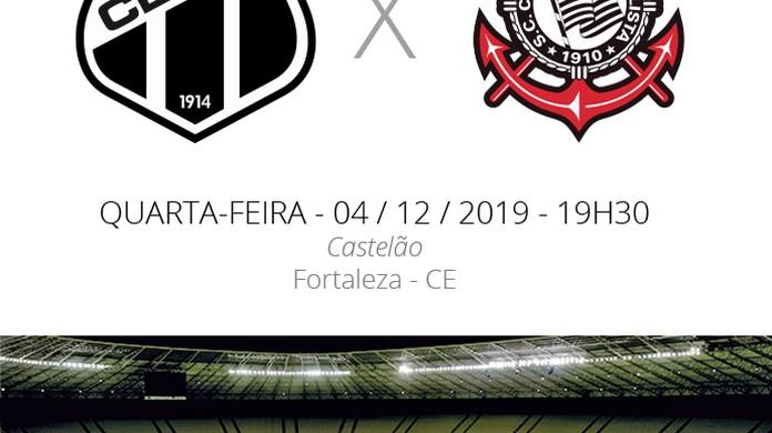 Ceara X Corinthians Veja Onde Assistir Escalacoes Desfalques E Arbitragem Brasileirao Serie A Ge
