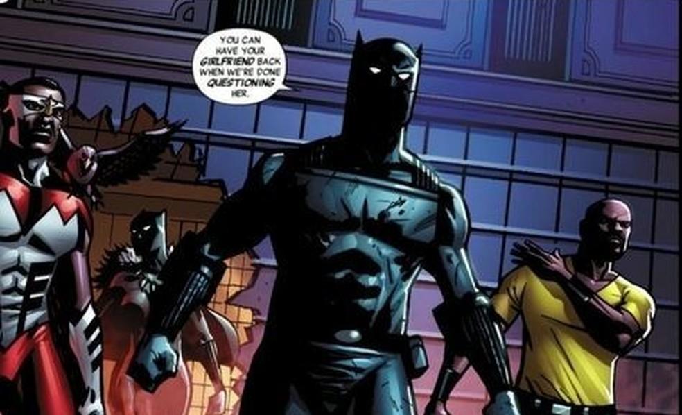 -  Pantera Negra, da Marvel Comics, é um dos poucos personagens negros a assumirem protagonismo na cultura geek  Foto: Globonews