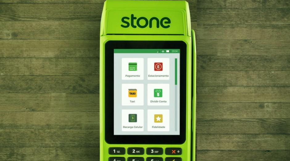 Máquina da Stone: parceria com o Grupo Globo para atingir os MEIs (Foto: Divulgação)