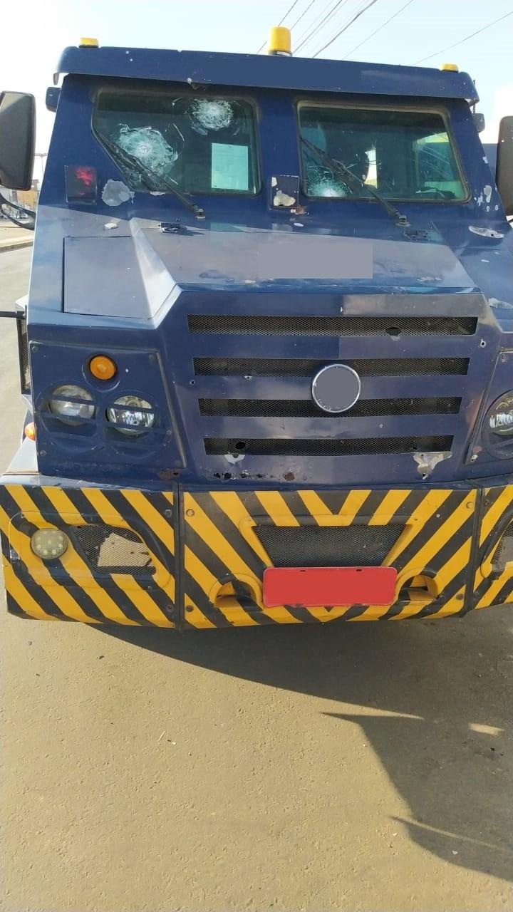 PRF registra tentativa de assalto a carro forte na BR-316, próximo a Araripina
