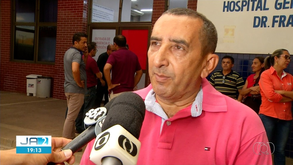 Irmão do prefeito disse que está supreso com o crim — Foto: Reprodução/TV Anhanguera