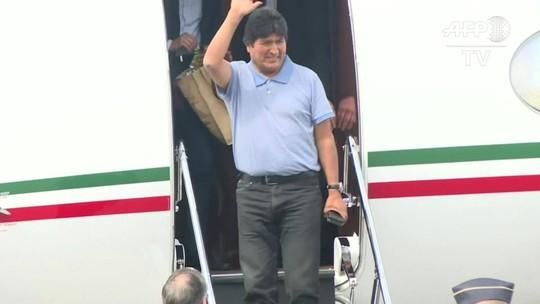 Evo Morales diz que presidente do México 'salvou a sua vida'
