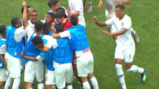 Corinthians vence o Atlético-PR e larga em vantagem nas oitavas da Copa do Brasil sub-17