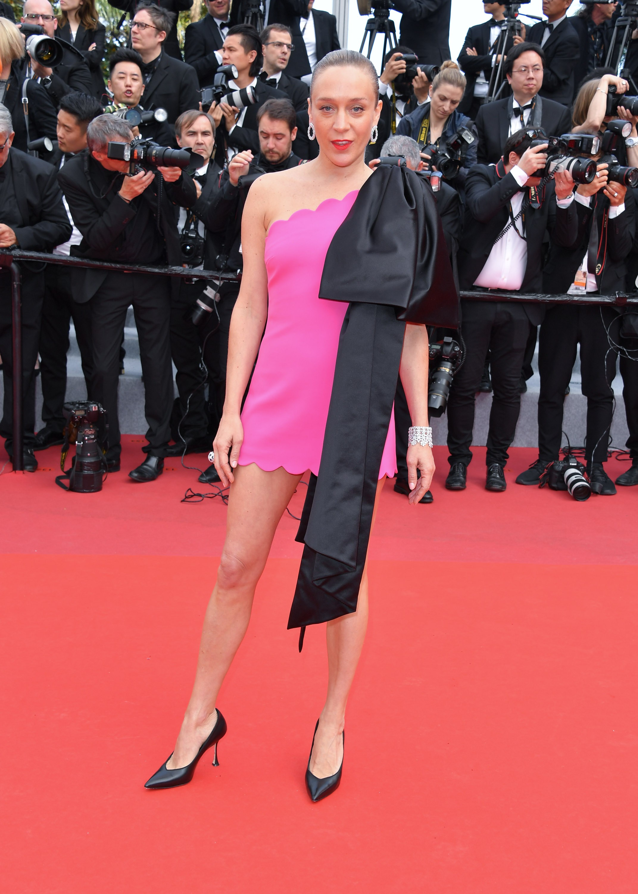 Chloe Sevigny em Cannes (Foto: Getty IMages)