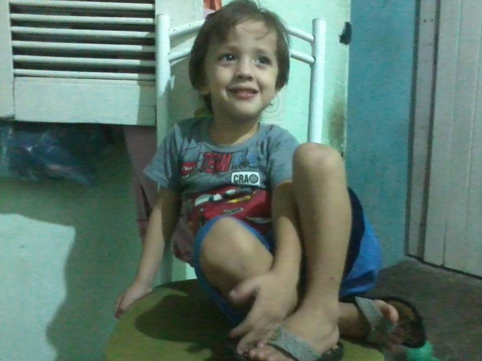 Corpo de criança foi achado um dia após familiares relatarem desaparecimento de crianças (Foto: Arquivo pessoal)