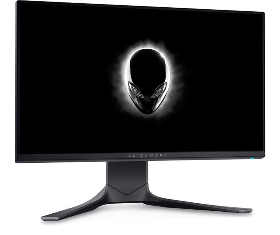 Alienware AW2521H tem suporte a 16,8 milhões de cores — Foto: Divulgação/Dell