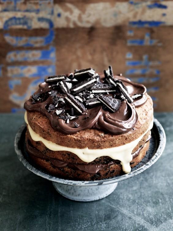 Receita de bolo de cookie e creme (Foto: Divulgação/ Fabulosos - Editora Alaúde)