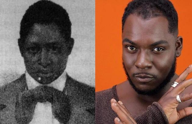 Reinaldo Junior interpretará Mahommah Gardo Baquaqua, africano escravizado no Brasil (Foto: Divulgação e reprodução)
